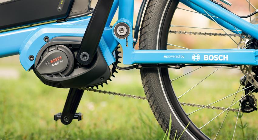 Nouvelle motorisation Bosch vélo cargo 2020