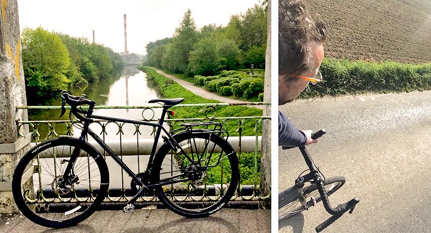 Stéphane et son vélo Genesis Croix de Fer 20