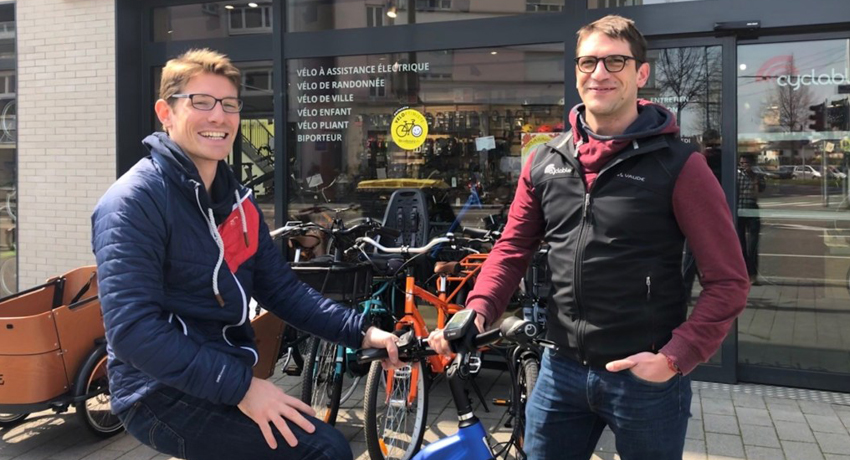 Sun Trip Tour : un cycliste solaire aux couleurs de Cyclable