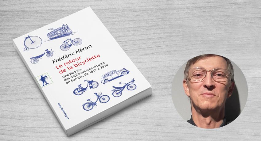 Frédéric Héran et son livre Le retour de la bicyclette
