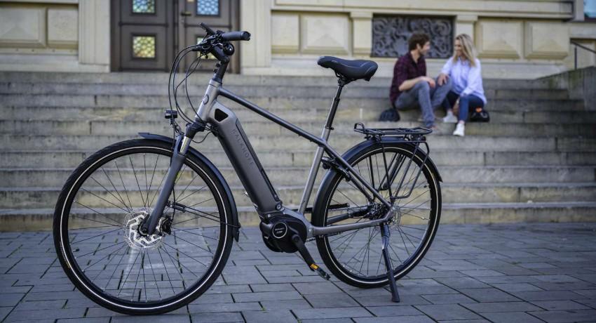 Vélo Kalkhoff avec motorisation Continental 2020