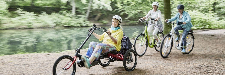 Vélo adapté PMR