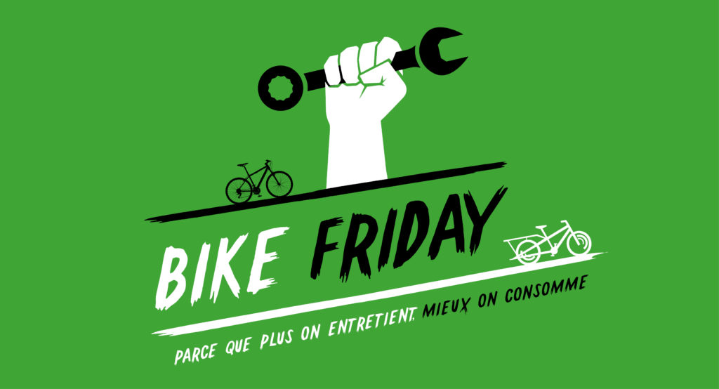 Affiche Bike Friday atelier Cyclable