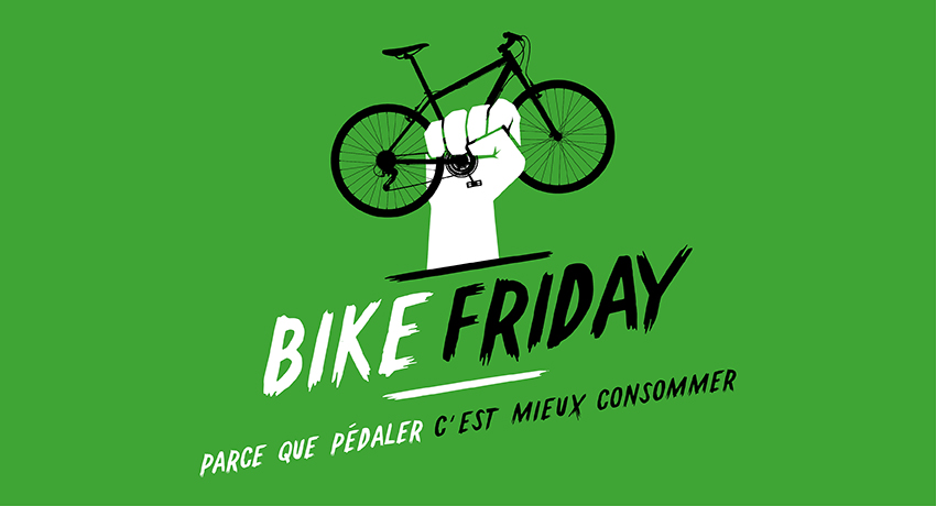 Bike Friday : un anti-Black Friday, vert et solidaire