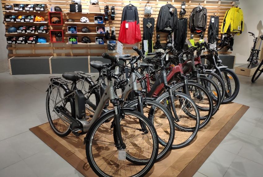 Vélos électriques présentés à Cyclable Luxembourg