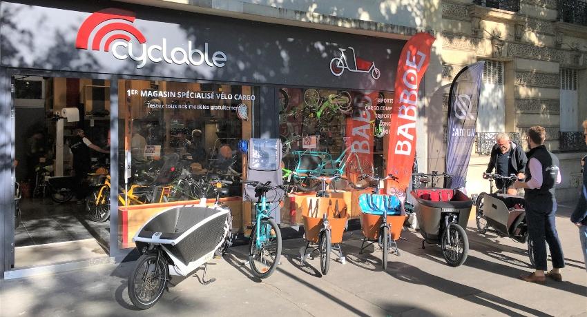 Cyclable Cargo : premier magasin dédié au vélo cargo à Paris 16