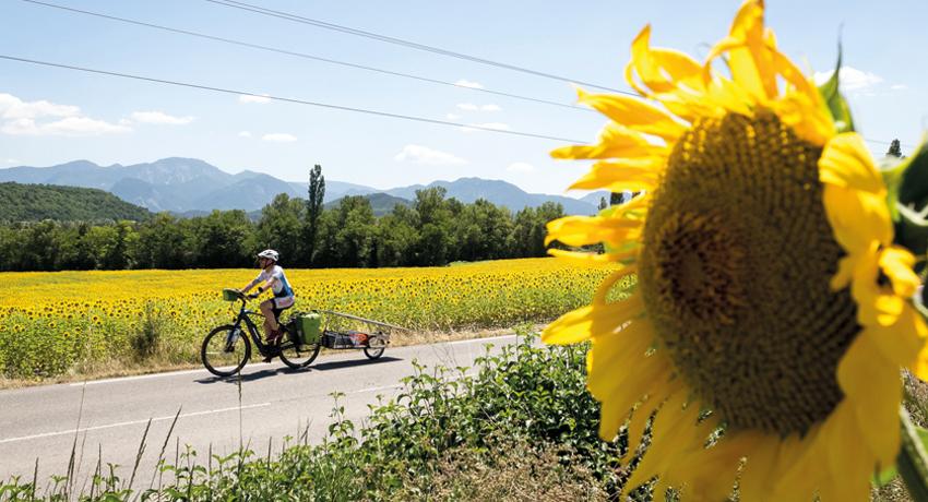 Vélo solaire : Sun Trip, l'itinérance à vélo sous un nouveau jour