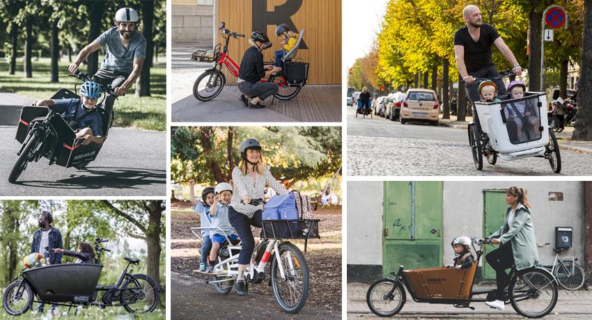 Étude comparative de 17 vélos cargo à assistance électrique