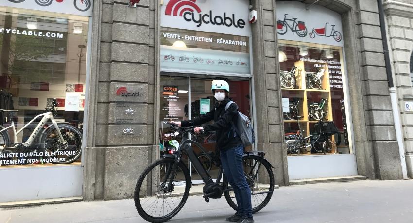 Covid-19: Pendant le confinement, Cyclable soutient les vélotaffeurs du quotidien