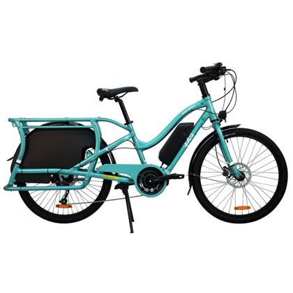 Vélo cargo Yuba Boda Boda bleu