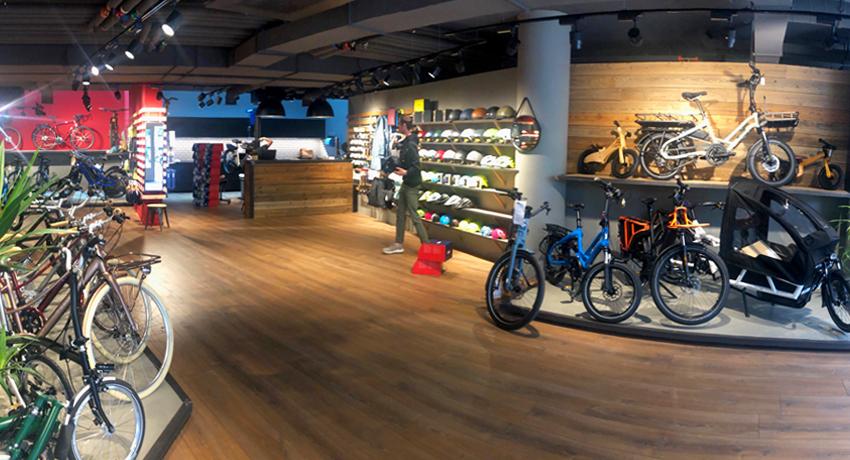 Vélos et vélos électriques dans Cyclable Nyon