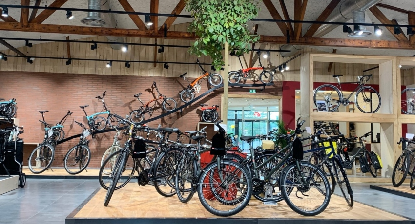 Gamme de vélos électriques Cyclable Montgermont