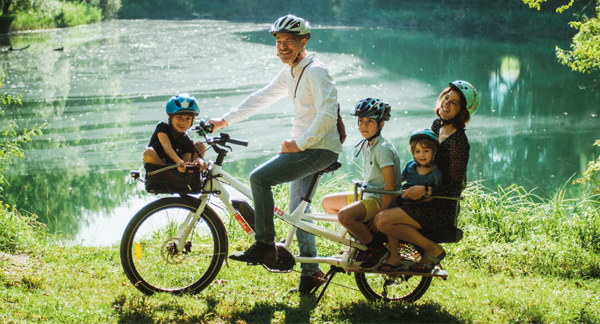 De la voiture familiale au vélo cargo