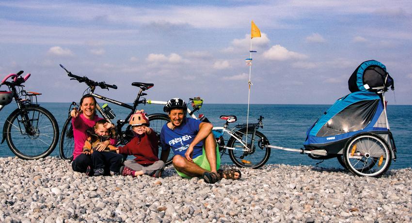 Un tour de France à vélo en famille