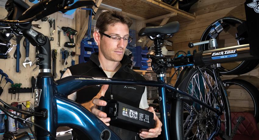 Une seconde vie pour les batteries de vélos électriques