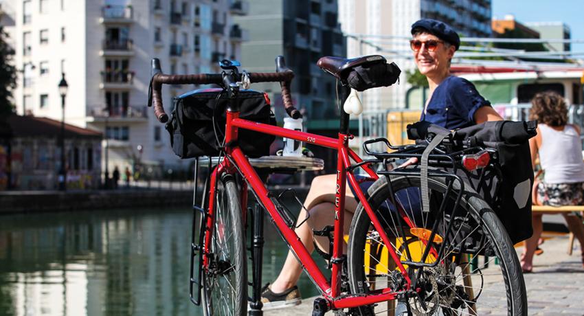 «Le vélotaf, mon moment de déconnexion»