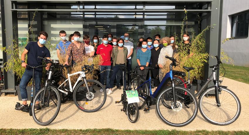 Cyclable pour le Challenge mobilité durable Lyon