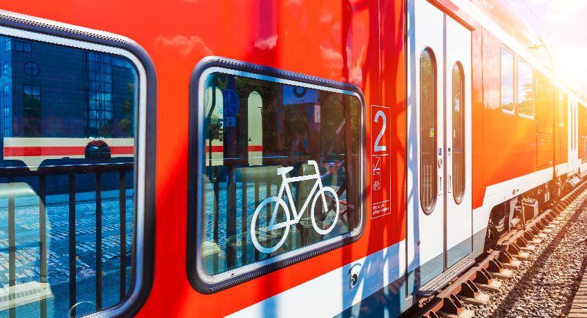 Train et vélo, l'amour vache!