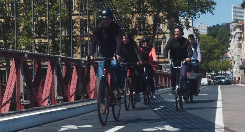 Equipe Cyclable siège à vélo