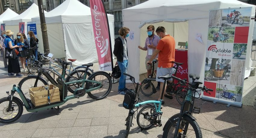 Stand Cyclable aux Cyclodays 2021