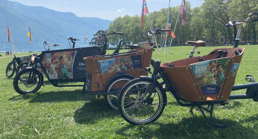Location de vélos cargos à Annecy