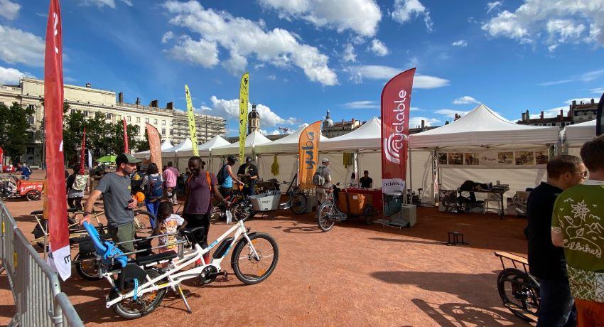 Stand Cyclable au Cargo bike festival