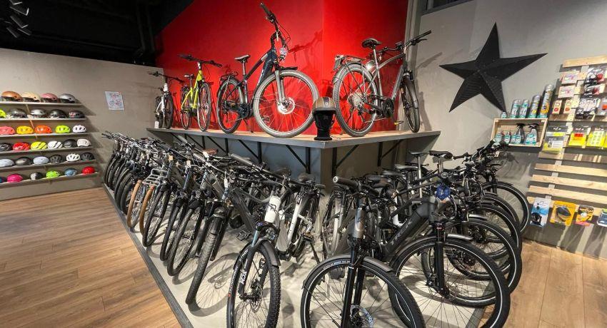 Vélos électriques Genève Charmilles