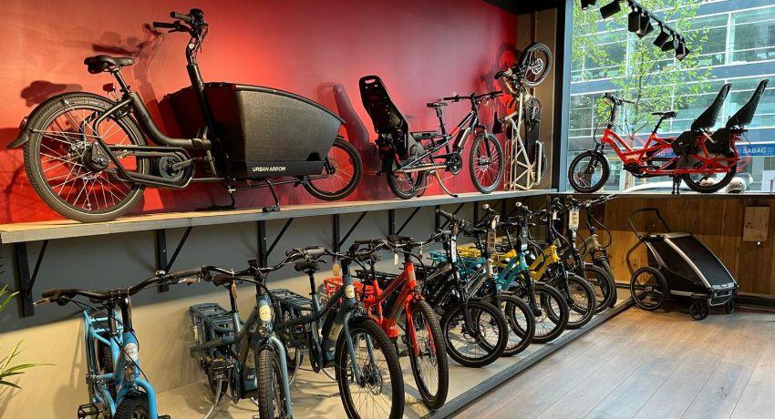 Vélos cargos présentés à Cyclable Genève Charmilles