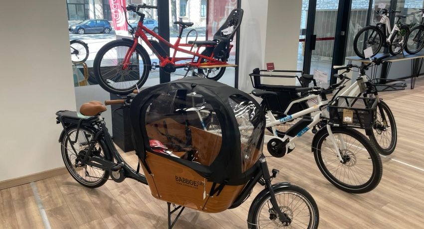 Vélos cargo chez Cyclable Troyes
